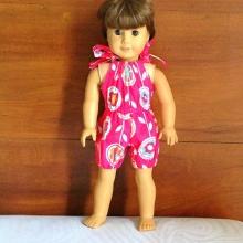 18 Inch Doll Romper Pattern