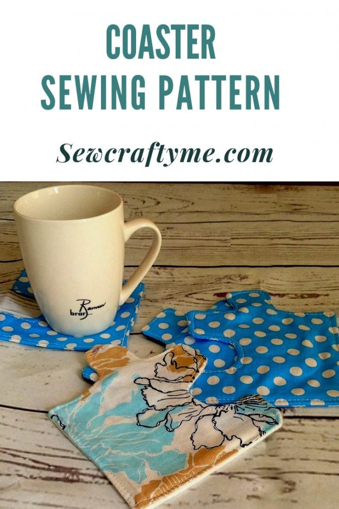 Coaster Sewing Pattern, Easy Jigsaw Puzzle Coaster