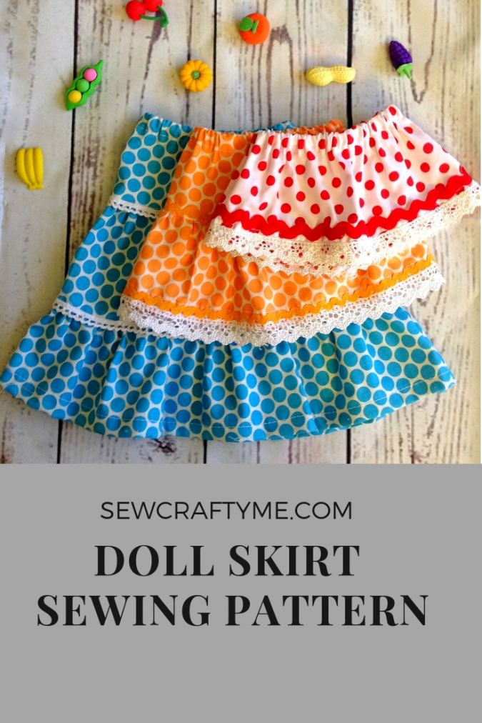 Doll Skirt Sewing Pattern Free, American Doll Pattern