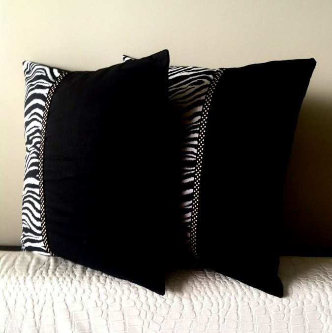 DIY envelope throw pillow tutorial
