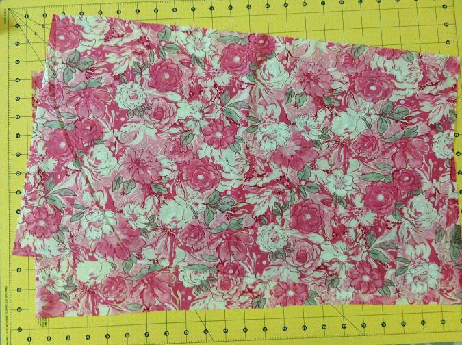 Sewing pattern girl's dress.