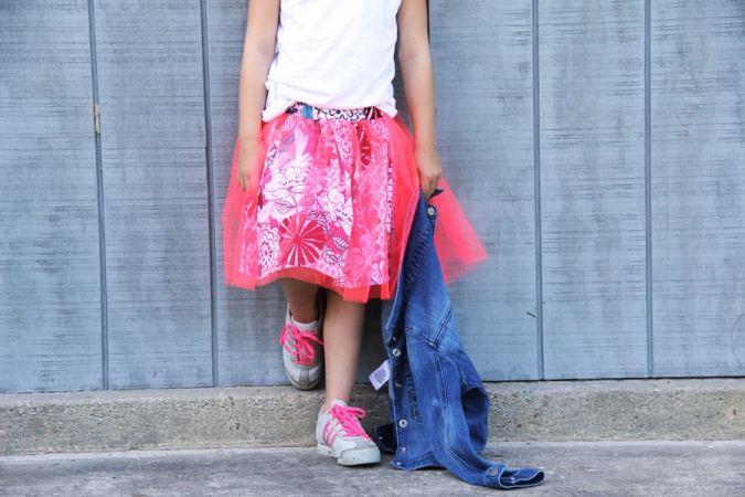 Tulle Overlay Skirt Pattern