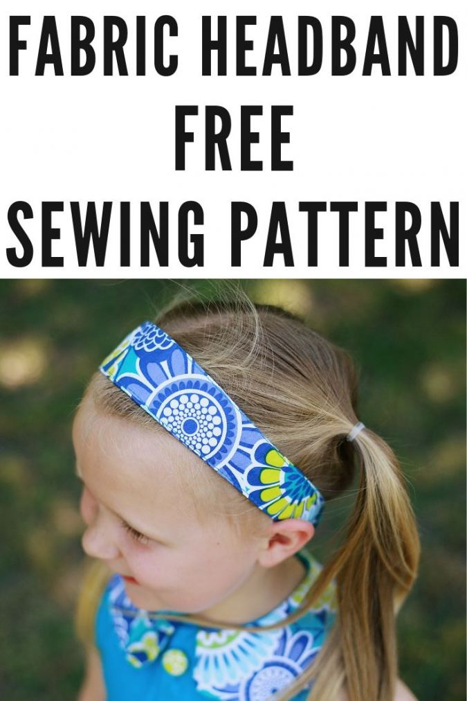 Sewing Pattern for Headband Free