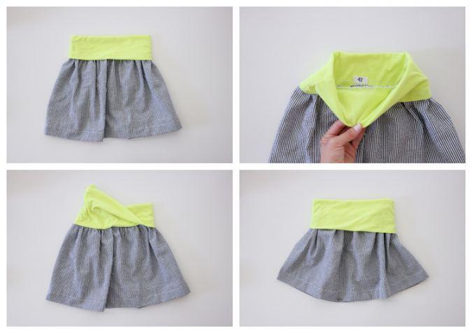 Flexible Waist Skirt