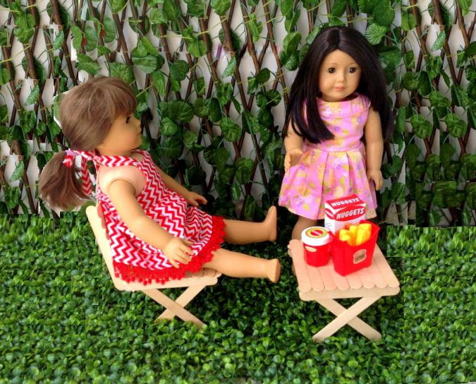 american girl doll chair diy