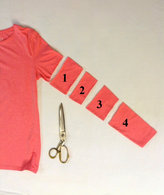 t-shirt refashion in 15 minutes