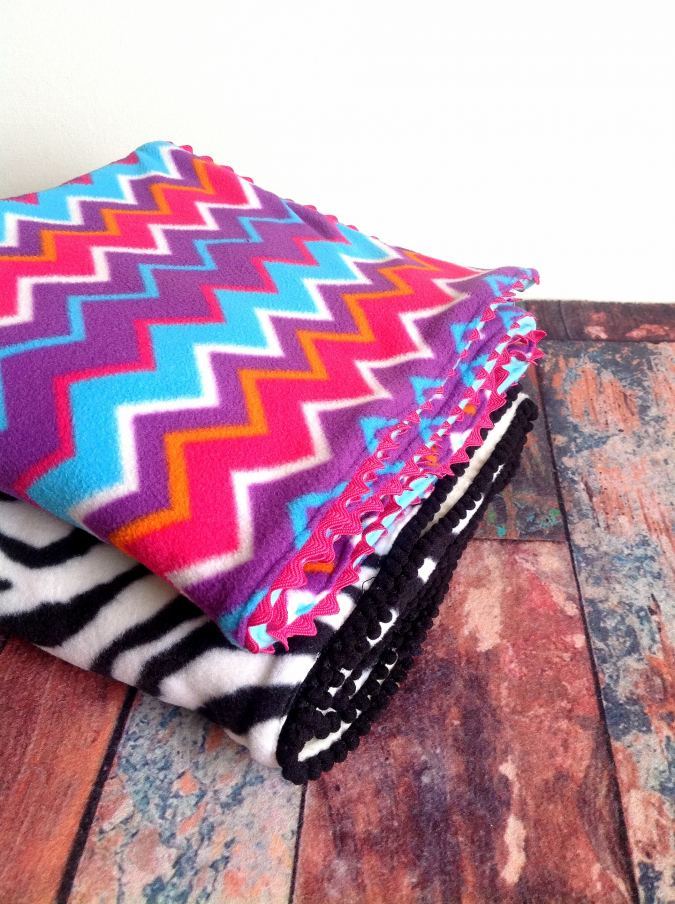 DIY Fleece Blankets