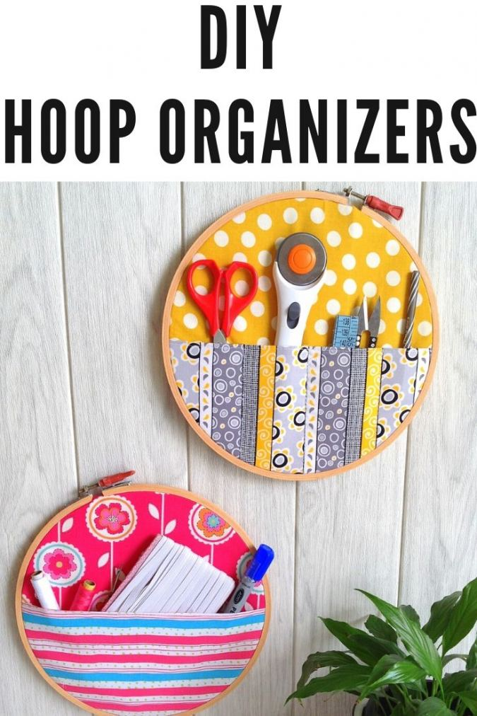 How to Make a Hoop Organizer ( Easy DIY Project)