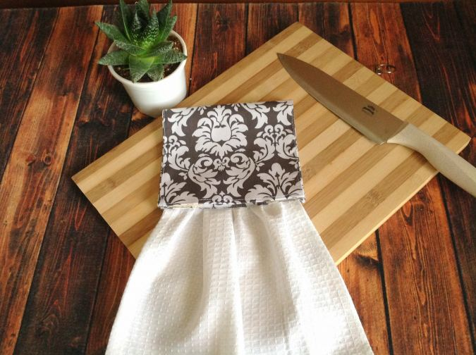 Easy Hanging Kitchen Towel Pattern