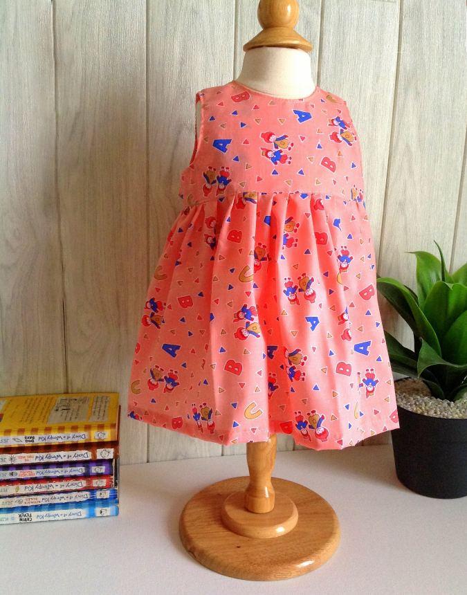 Baby Girls Dress Pattern