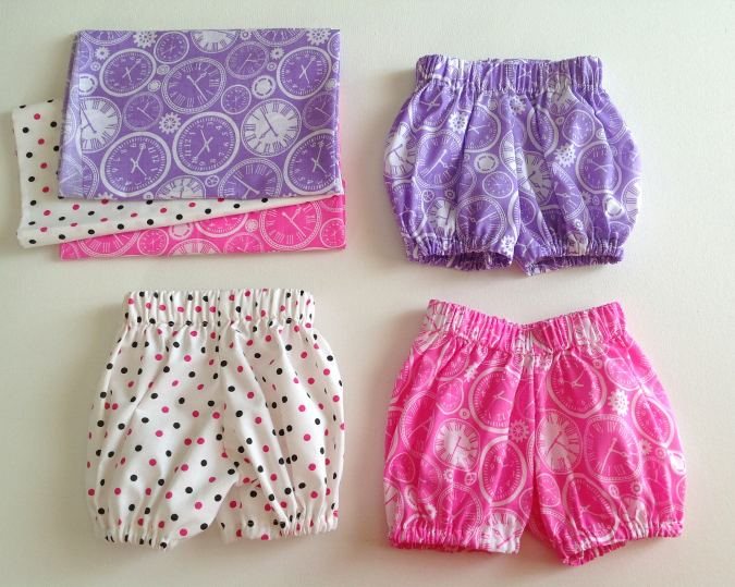 How to Make Baby Bloomers