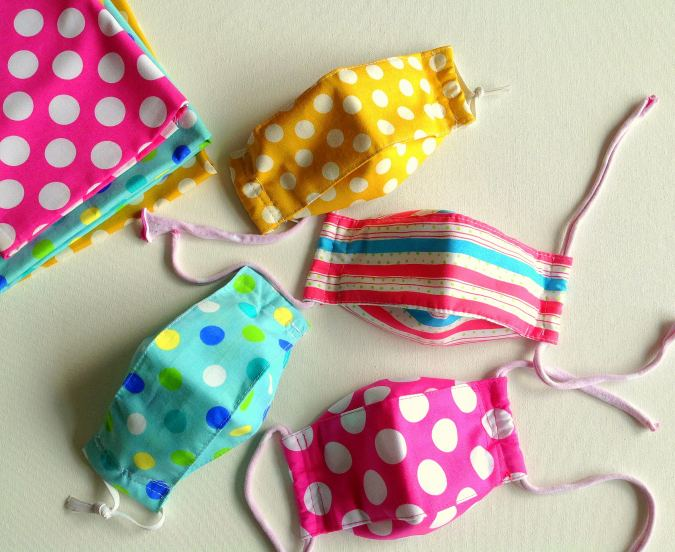 Easy Breathable Face Mask Sewing Pattern