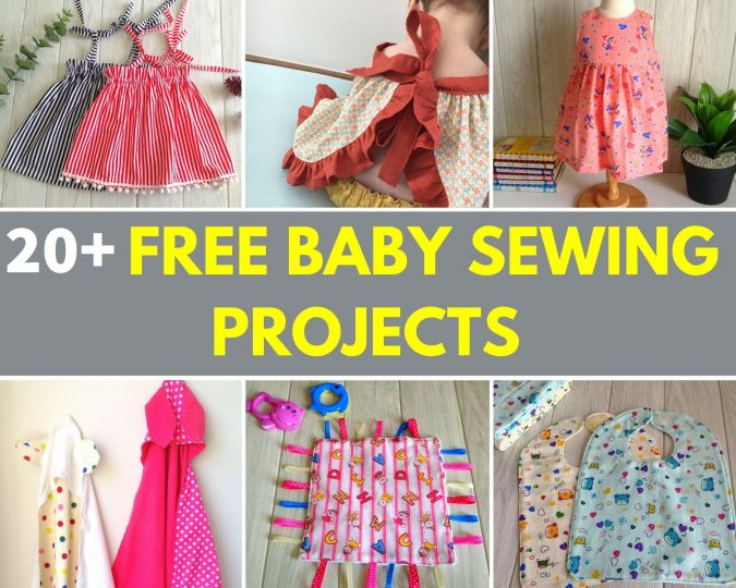 free baby sewing projects