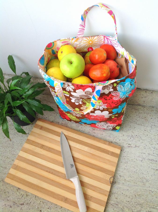 Easy Reusable Reversible Grocery Bag