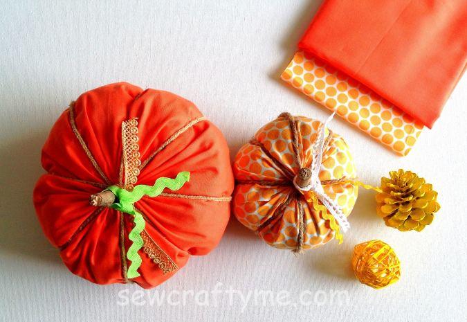 Plaid Pumpkin Pattern