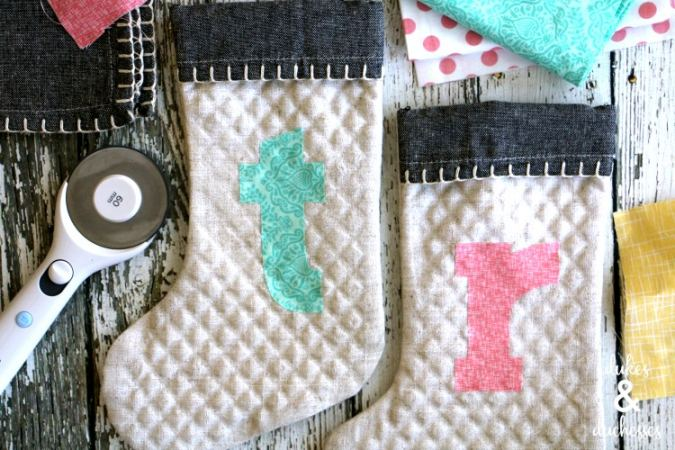 Christmas Cricut Sewing Projects