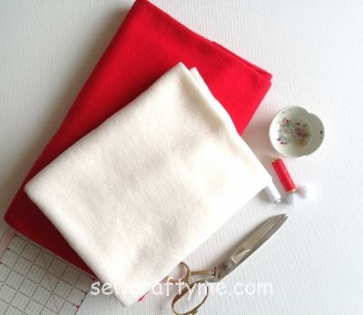 Santa Sack sewing project