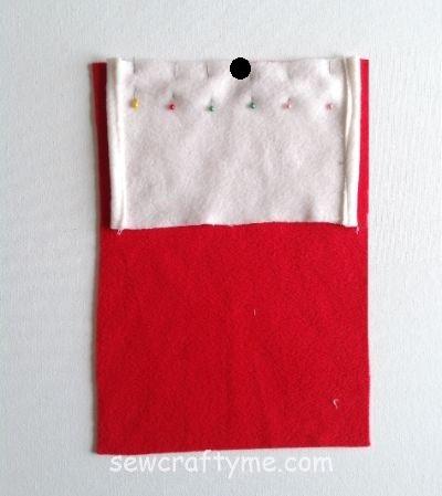 Santa Bag sewing tutorial