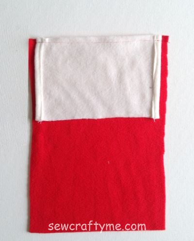 Santa sack sewing tutorial