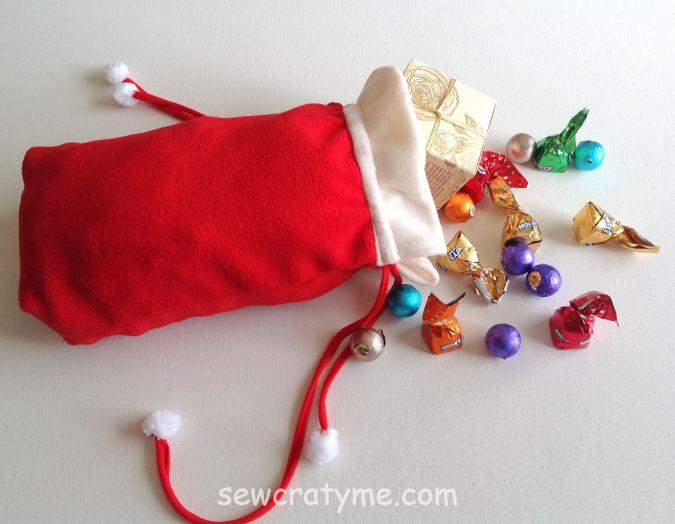 Easy Santa Sack Sewing Pattern