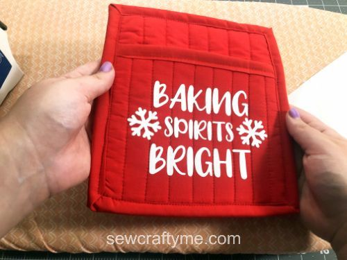 DIY Christmas potholder