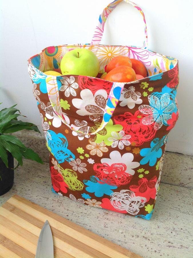 Grocery Bag Pattern