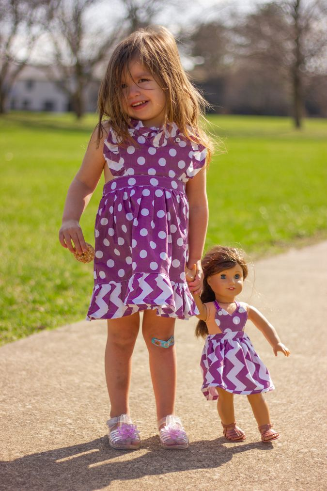Free Heart Pinafore Sewing Pattern for Girls
