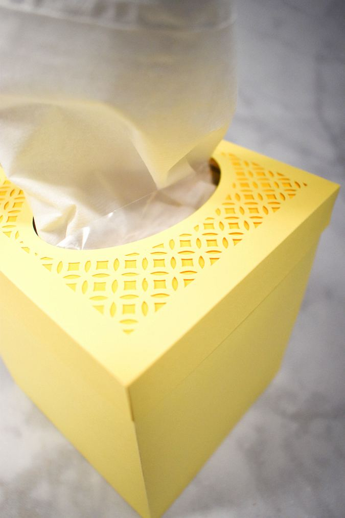 How to Make a Tissue Box Holder with Cricut