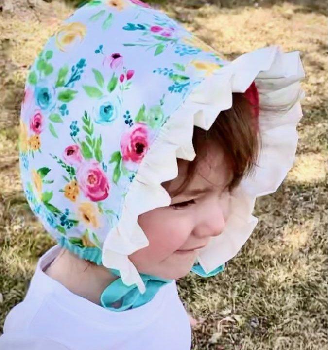 Free Baby Bonnet Sewing Pattern