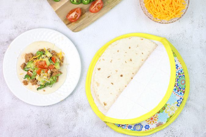 How to sew a tortilla warmer
