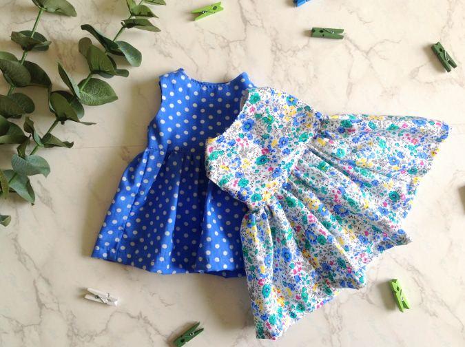 Doll Dress Sewing Pattern