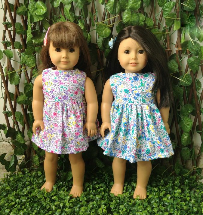 Dolls Dress Pattern