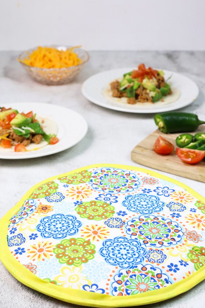tortilla warmer pattern