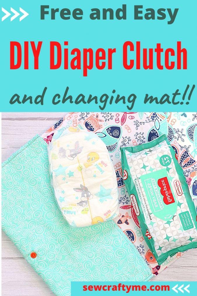 DIY Diaper Clutch