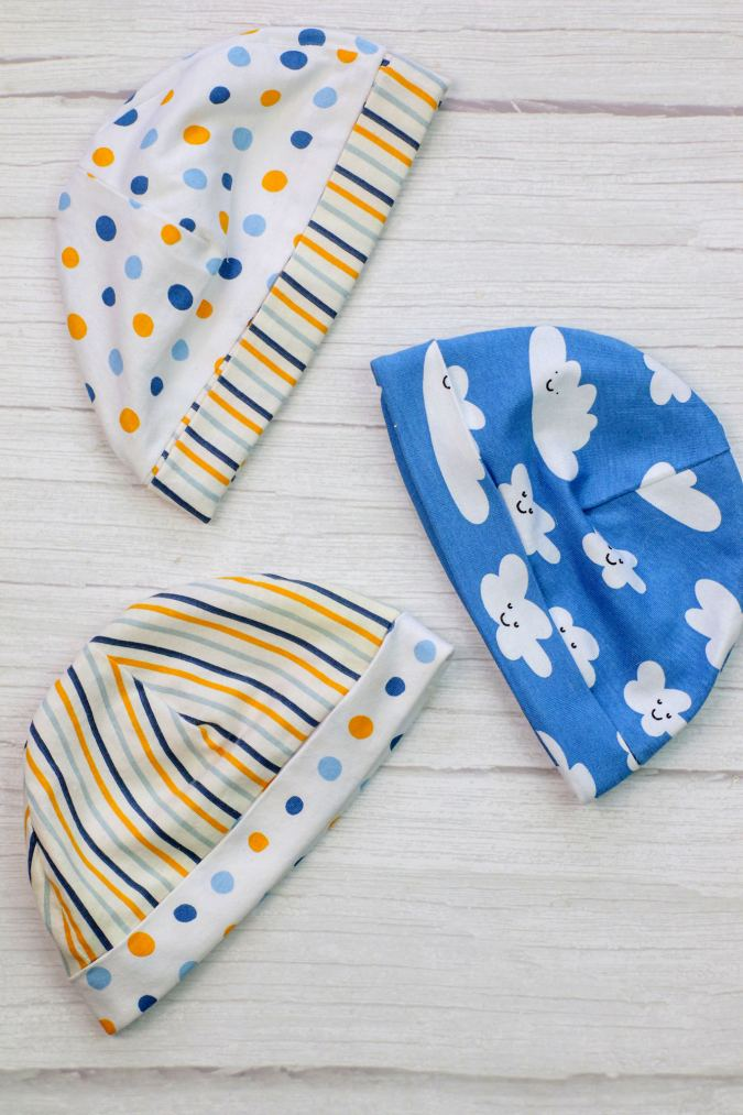 How to sew a baby hat in 4 steps