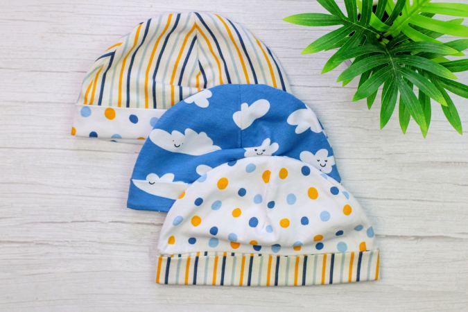 Easy Baby hat Sewing Pattern