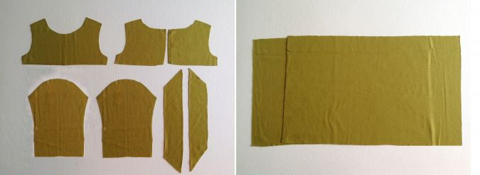 how to sew a knit dress