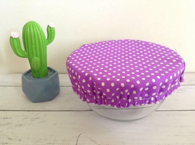 DIY Reusable fabric Bowl Cover
